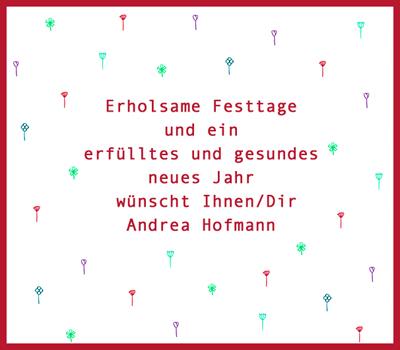 Weihnachts-  und Neujahrswünsche 2012/13